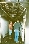 Nicholson Hall Fire by Heather Pilcher
